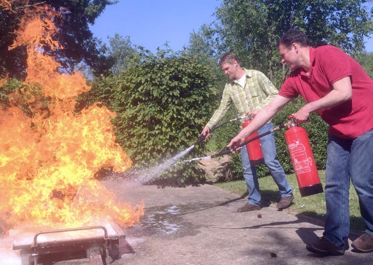 Ausbildung Brandschutzhelfer