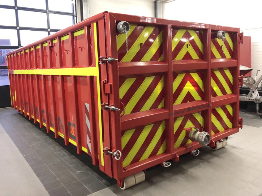 Container Frontansicht