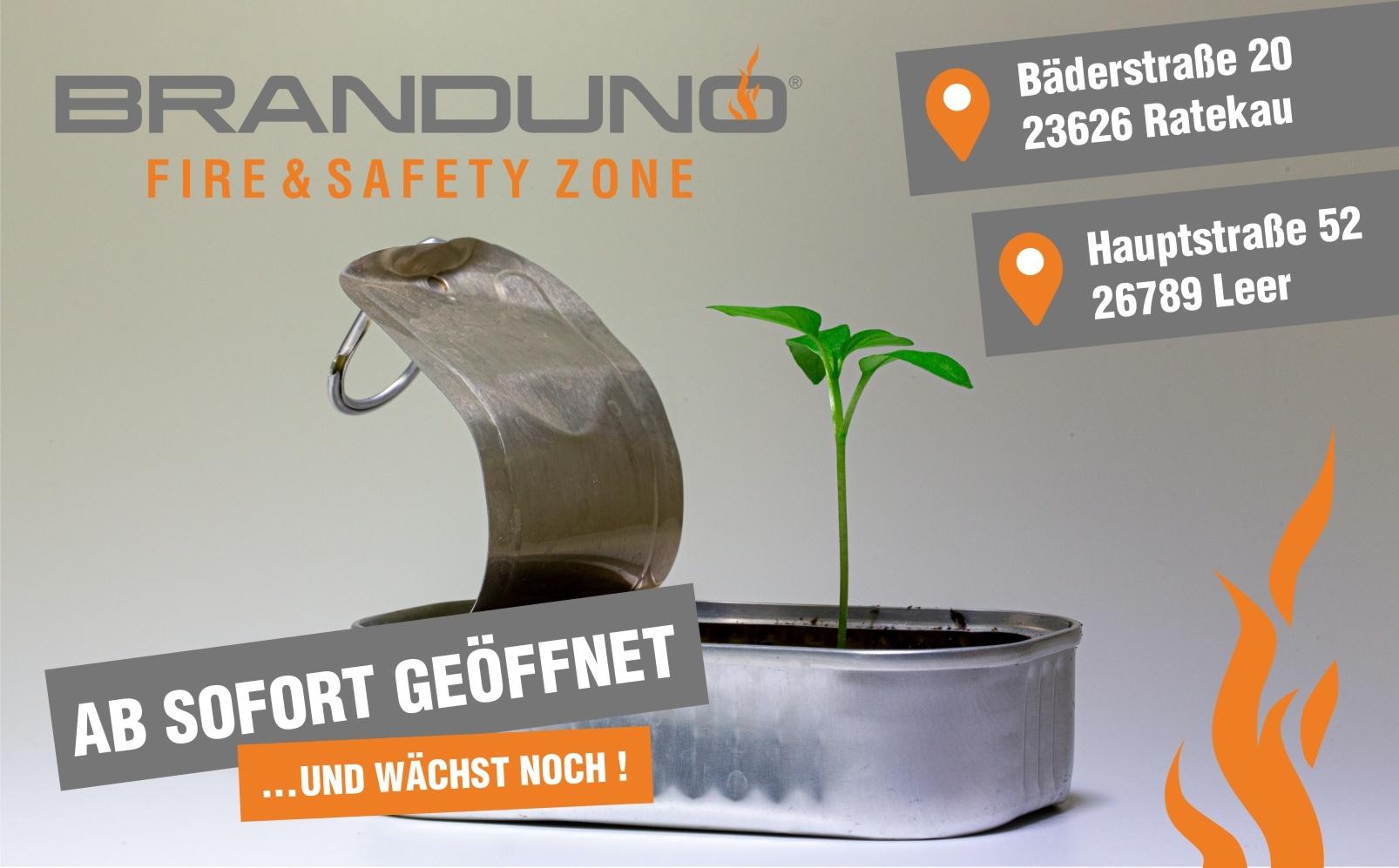Eröffnung Fire & Safety Zone in Ratekau
