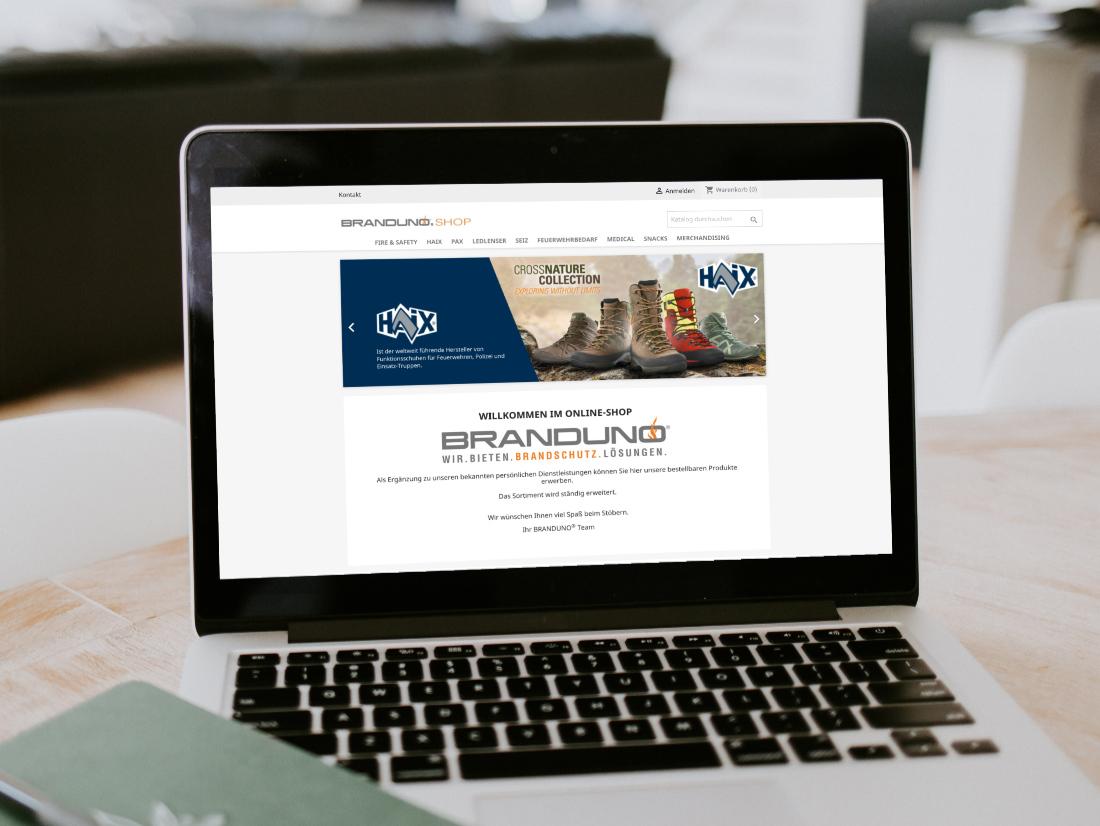 Besuchen Sie unseren Web-Shop unter: www.BRANDUNO.shop