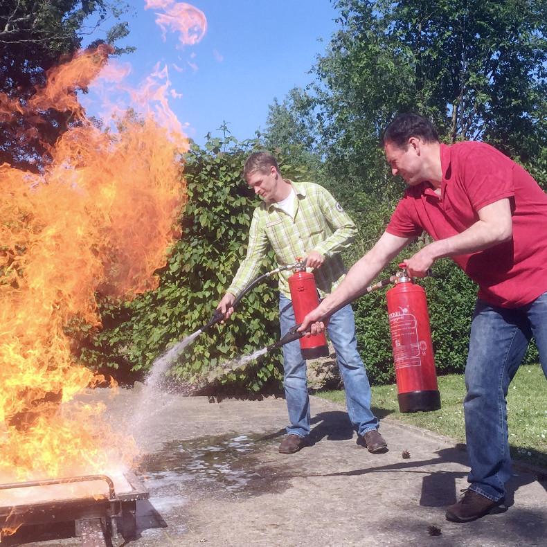 Brandschutzhelfer
